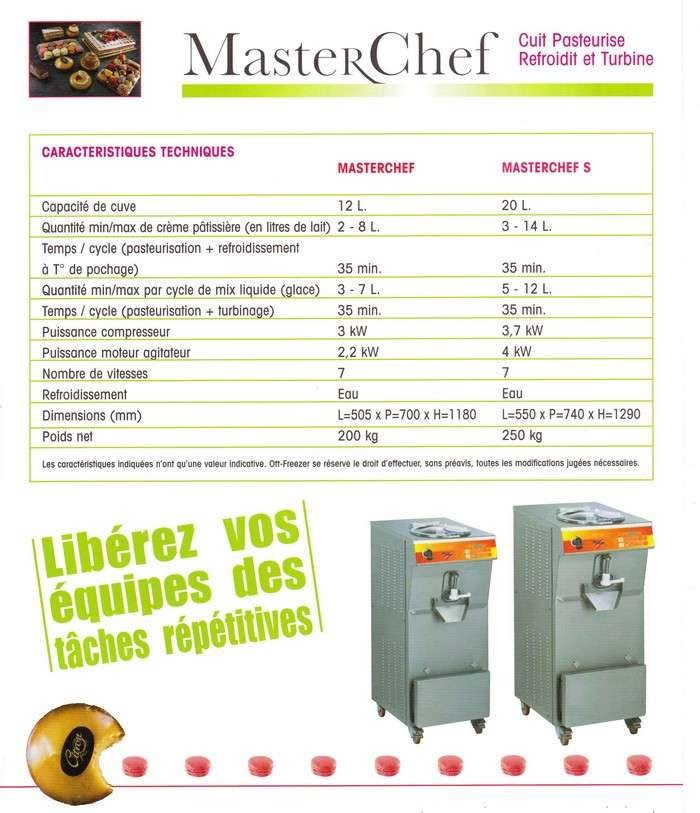 technique Masterchef Monofrance